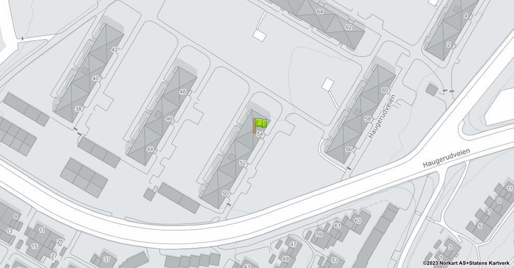 Kart sentrert på geolokasjonen 59.9178157918929 breddegrad, 10.8546403157957 lengdegrad