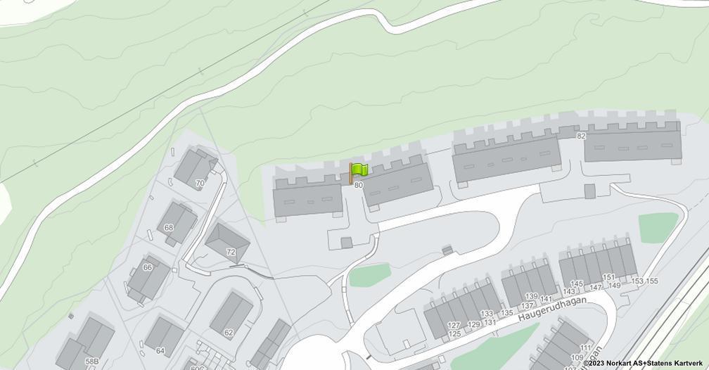 Kart sentrert på geolokasjonen 59.9246669814064 breddegrad, 10.8547722498739 lengdegrad