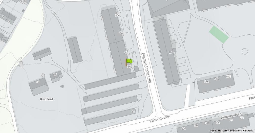 Kart sentrert på geolokasjonen 59.9524706559353 breddegrad, 10.856308003286 lengdegrad