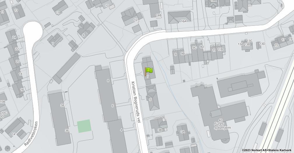 Kart sentrert på geolokasjonen 59.9550561797142 breddegrad, 10.864672749119 lengdegrad
