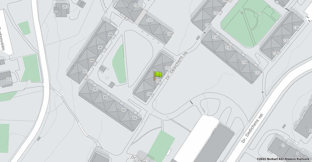 Kart sentrert på geolokasjonen 59.9265023851157 breddegrad, 10.8685452402777 lengdegrad