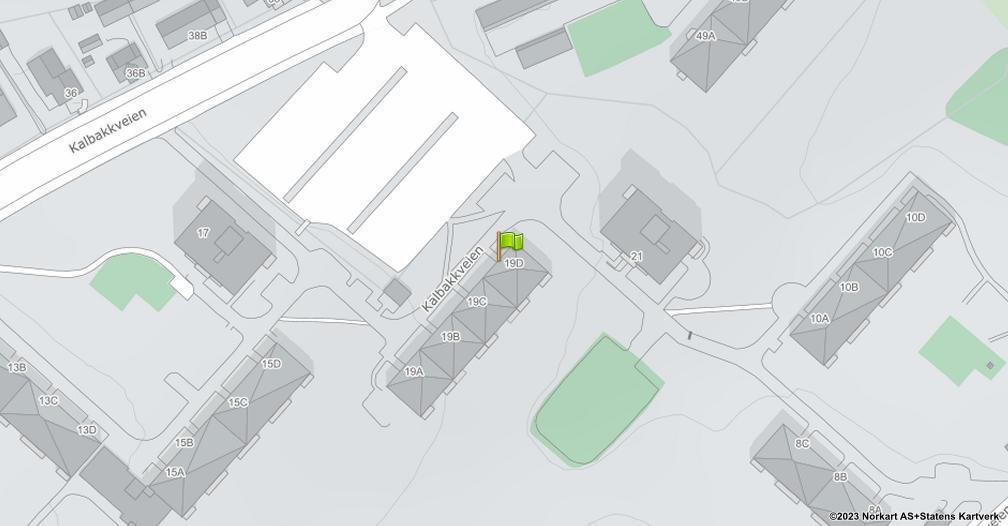 Kart sentrert på geolokasjonen 59.9533827892081 breddegrad, 10.8762725770832 lengdegrad