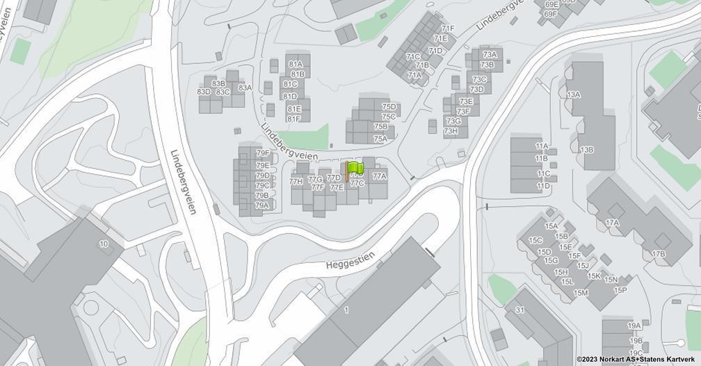 Kart sentrert på geolokasjonen 59.9310172043439 breddegrad, 10.8769776122683 lengdegrad