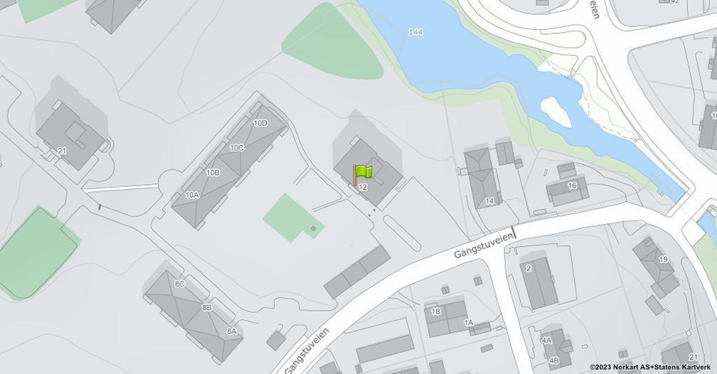 Kart sentrert på geolokasjonen 59.9532717734489 breddegrad, 10.8790241123379 lengdegrad