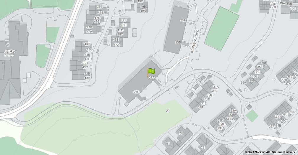 Kart sentrert på geolokasjonen 59.9334769192682 breddegrad, 10.8883918664832 lengdegrad
