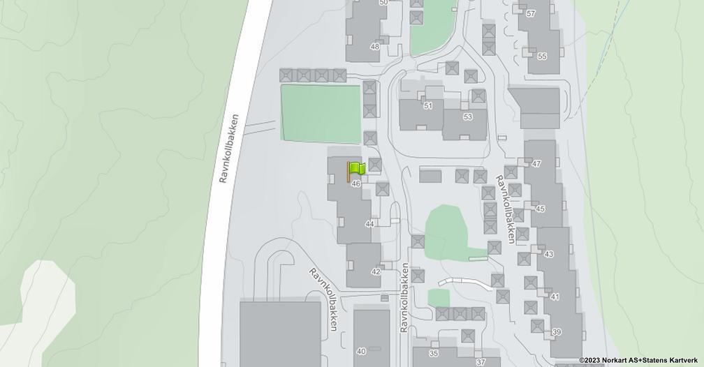 Kart sentrert på geolokasjonen 59.9658890351769 breddegrad, 10.8904876610587 lengdegrad
