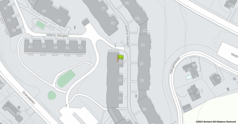 Kart sentrert på geolokasjonen 59.9481619522879 breddegrad, 10.8990393046796 lengdegrad