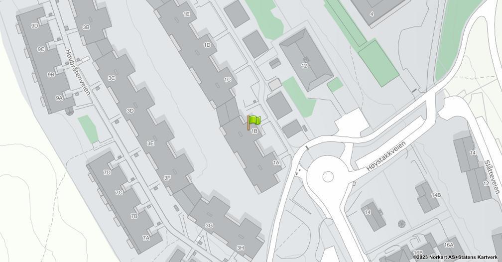 Kart sentrert på geolokasjonen 59.9467002489495 breddegrad, 10.9042357024887 lengdegrad