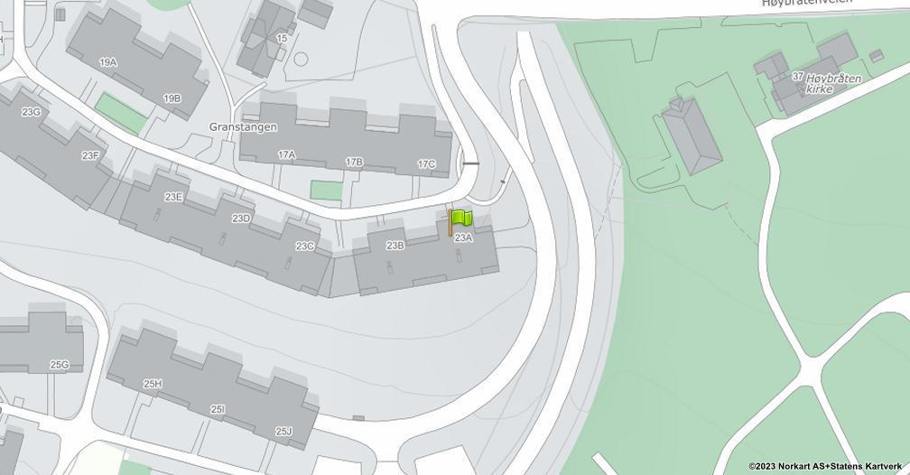 Kart sentrert på geolokasjonen 59.9438641910412 breddegrad, 10.9074405687164 lengdegrad