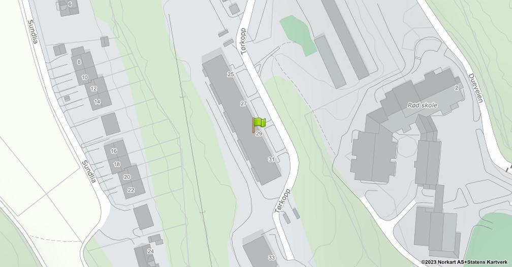 Kart sentrert på geolokasjonen 59.1949477734649 breddegrad, 10.9086466787411 lengdegrad