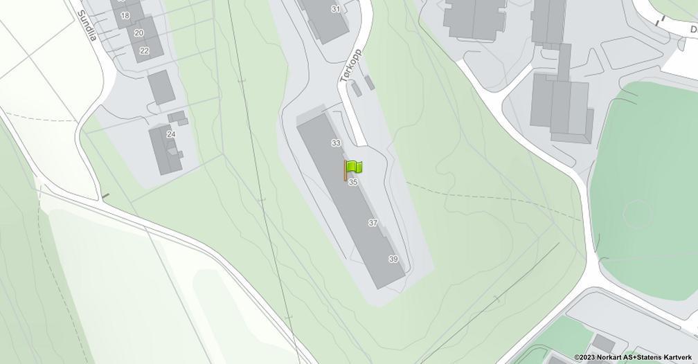 Kart sentrert på geolokasjonen 59.1941941459002 breddegrad, 10.9088881478551 lengdegrad