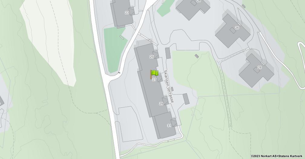 Kart sentrert på geolokasjonen 59.935529779012 breddegrad, 10.9092528513018 lengdegrad