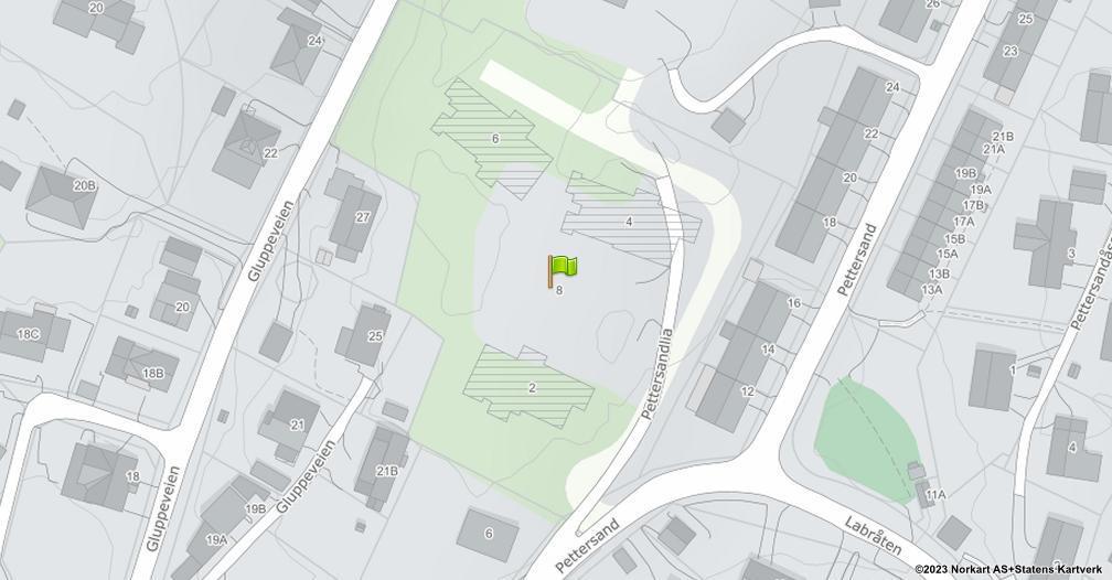 Kart sentrert på geolokasjonen 59.2332998870641 breddegrad, 10.9163443126011 lengdegrad
