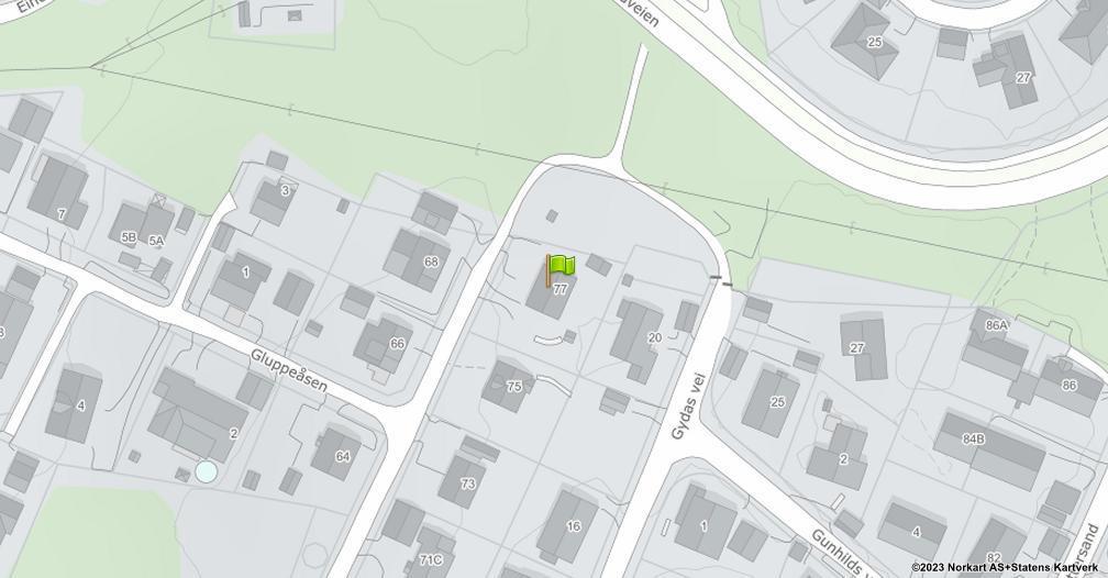 Kart sentrert på geolokasjonen 59.2390704137155 breddegrad, 10.9197537682715 lengdegrad