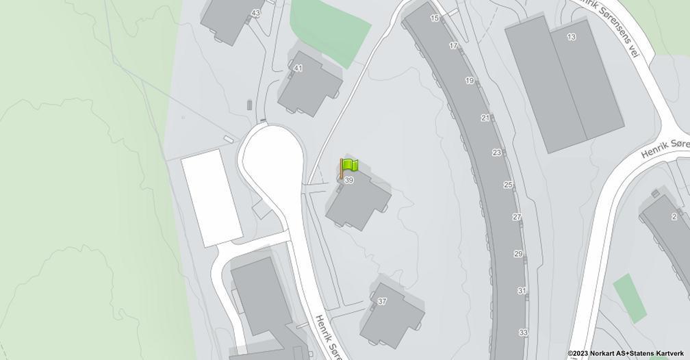 Kart sentrert på geolokasjonen 59.9389151995399 breddegrad, 10.9204383005674 lengdegrad