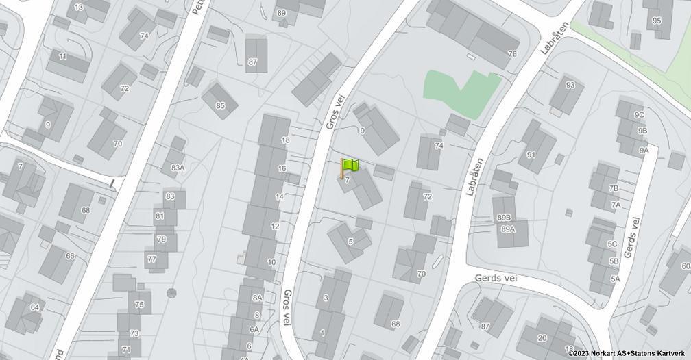 Kart sentrert på geolokasjonen 59.2369301056566 breddegrad, 10.922350760954 lengdegrad