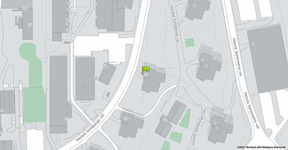 Kart sentrert på geolokasjonen 59.9357890578972 breddegrad, 10.9235508715723 lengdegrad