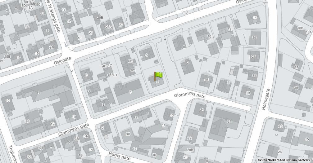 Kart sentrert på geolokasjonen 59.2178790144502 breddegrad, 10.9289359098032 lengdegrad
