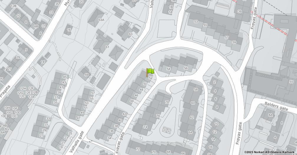 Kart sentrert på geolokasjonen 59.217656780459 breddegrad, 10.9355175145067 lengdegrad