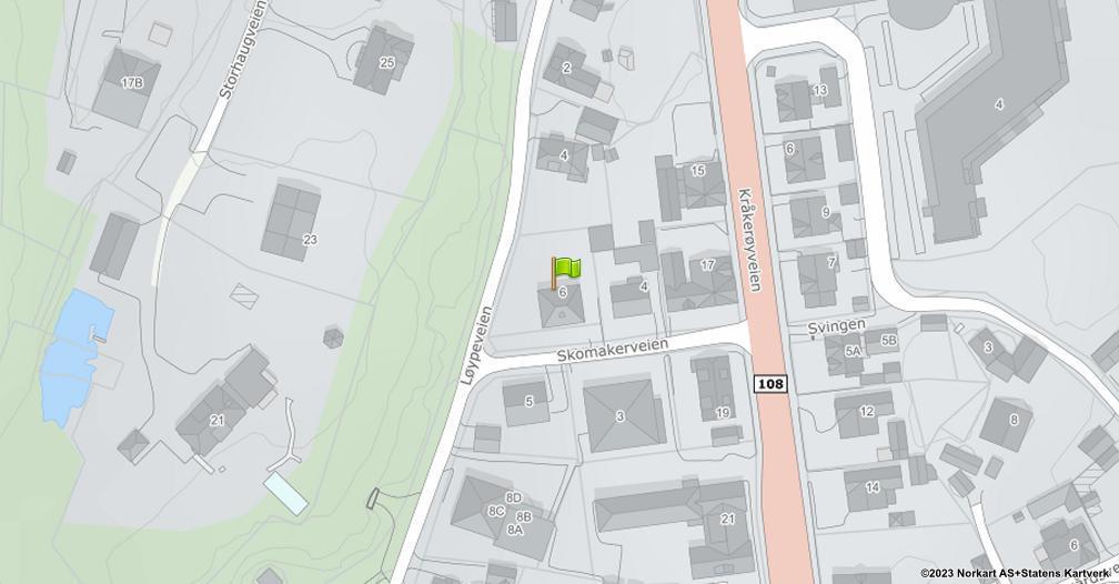 Kart sentrert på geolokasjonen 59.2046390588495 breddegrad, 10.9371673831937 lengdegrad