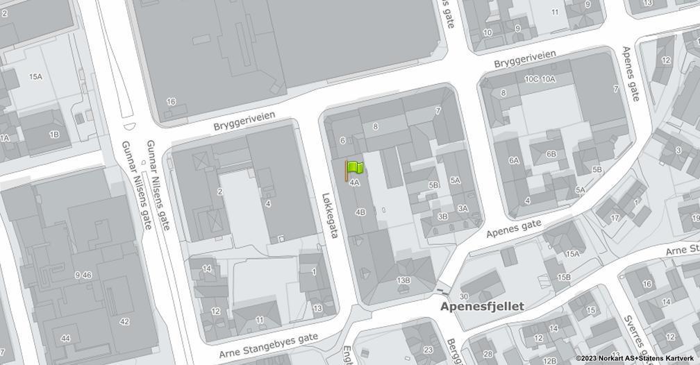 Kart sentrert på geolokasjonen 59.2133419424684 breddegrad, 10.9405966334382 lengdegrad