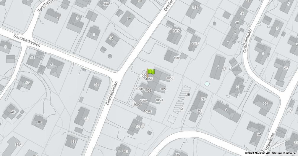 Kart sentrert på geolokasjonen 59.2326966341623 breddegrad, 10.9423074840732 lengdegrad
