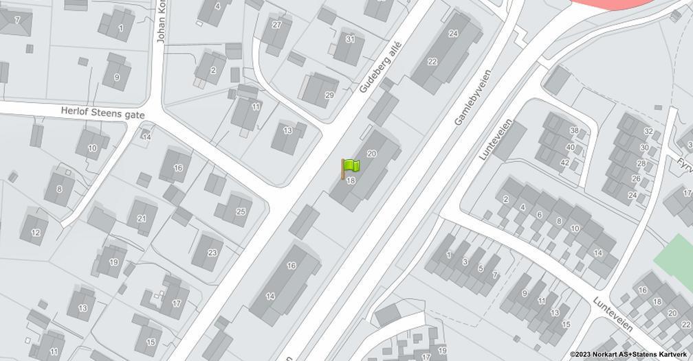 Kart sentrert på geolokasjonen 59.2056904115808 breddegrad, 10.9671690061843 lengdegrad