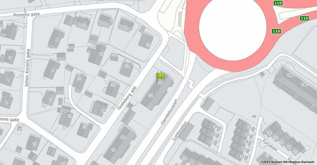 Kart sentrert på geolokasjonen 59.2062259999803 breddegrad, 10.9678995983703 lengdegrad