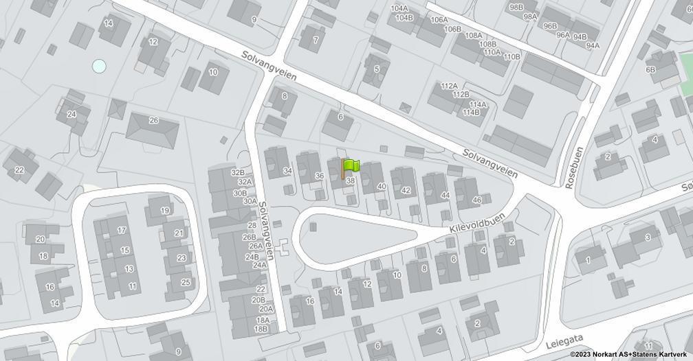 Kart sentrert på geolokasjonen 59.2329251617929 breddegrad, 10.9693639628493 lengdegrad