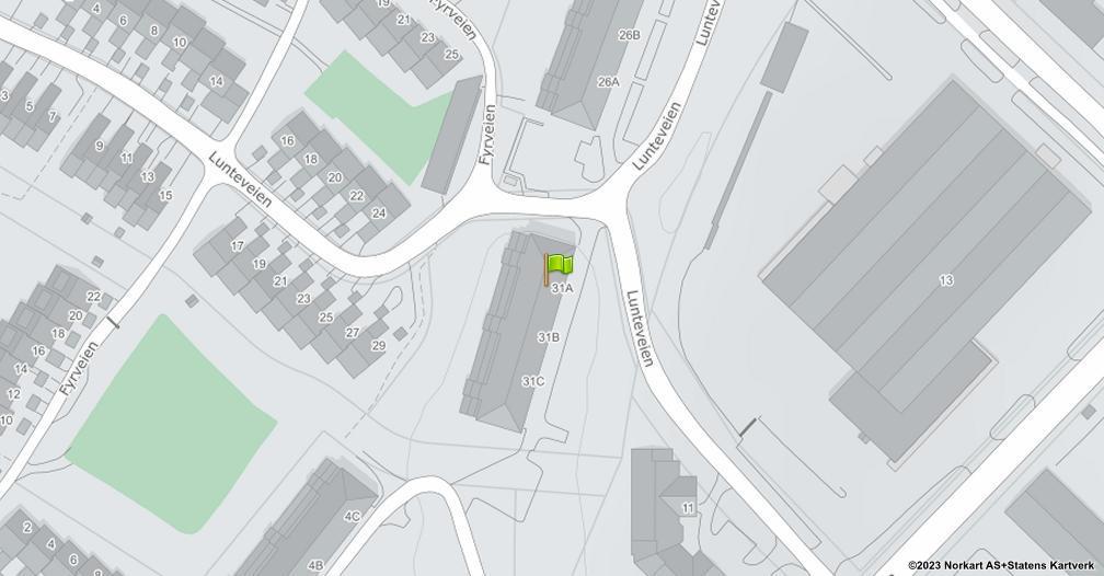 Kart sentrert på geolokasjonen 59.2049549549516 breddegrad, 10.9704513213662 lengdegrad