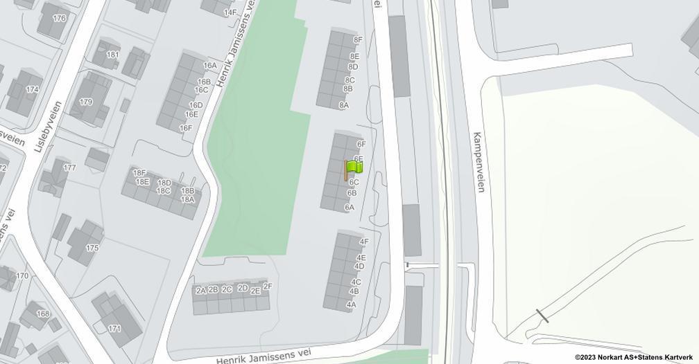 Kart sentrert på geolokasjonen 59.2305273117434 breddegrad, 10.9783093073092 lengdegrad