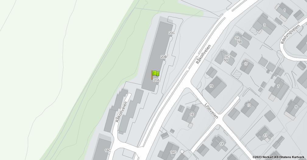 Kart sentrert på geolokasjonen 59.2515448061663 breddegrad, 10.9860812244272 lengdegrad