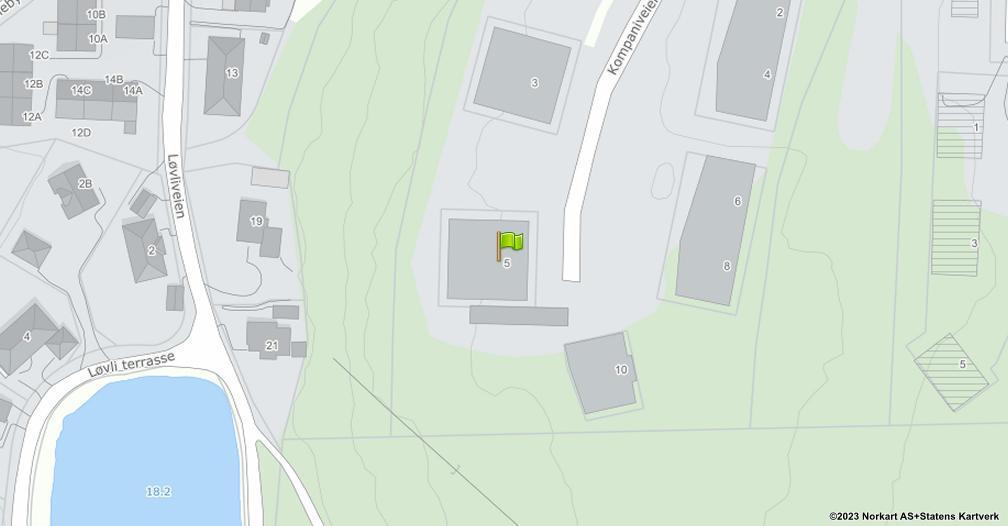 Kart sentrert på geolokasjonen 59.2075613569294 breddegrad, 10.9956163521748 lengdegrad