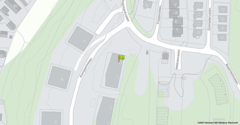 Kart sentrert på geolokasjonen 59.2081873656737 breddegrad, 10.9969484846507 lengdegrad