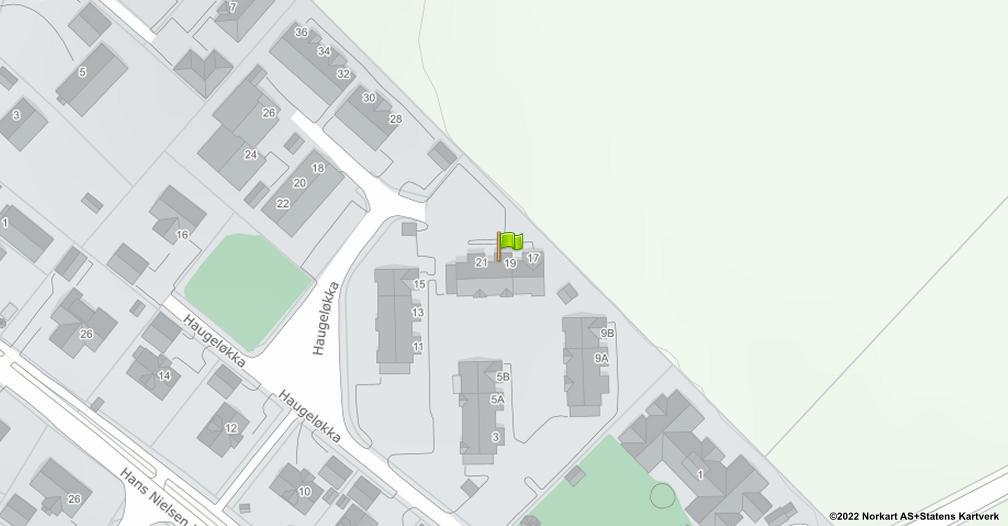 Kart sentrert på geolokasjonen 59.2479363943706 breddegrad, 10.9980346977409 lengdegrad