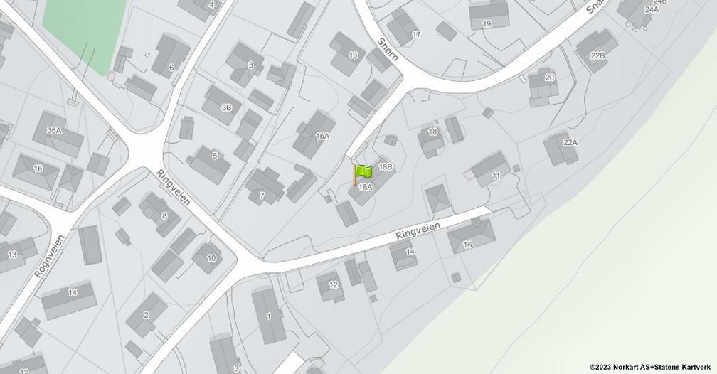 Kart sentrert på geolokasjonen 59.2396189928279 breddegrad, 11.0237421847358 lengdegrad