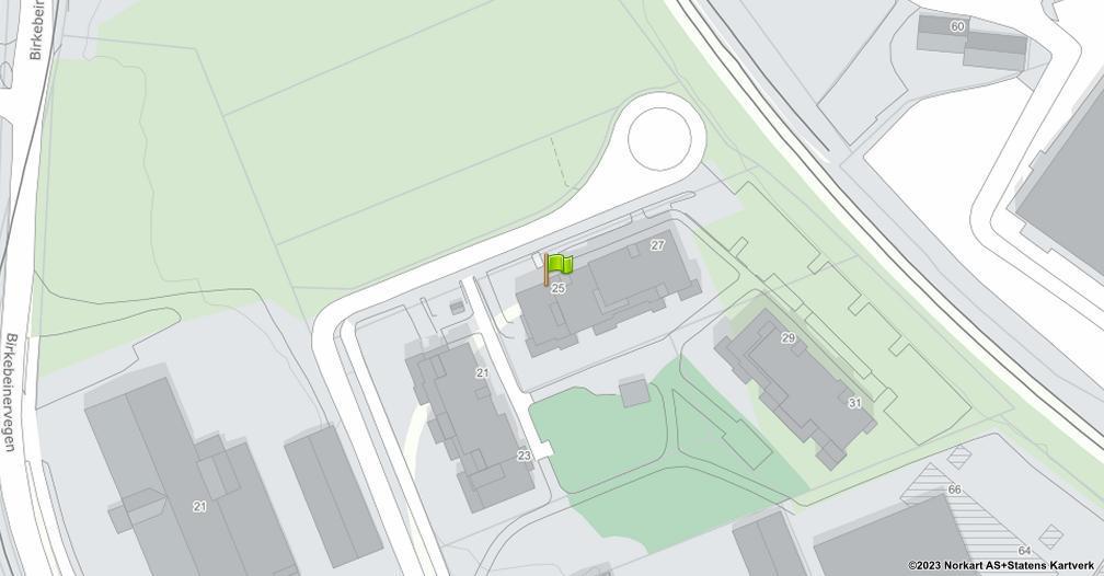 Kart sentrert på geolokasjonen 60.8014343603532 breddegrad, 11.0325101798037 lengdegrad