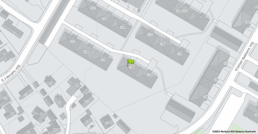 Kart sentrert på geolokasjonen 60.8044438964982 breddegrad, 11.0364252731017 lengdegrad