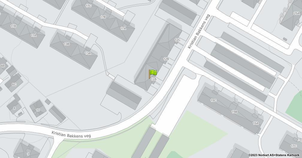 Kart sentrert på geolokasjonen 60.8041518757892 breddegrad, 11.0379140600405 lengdegrad
