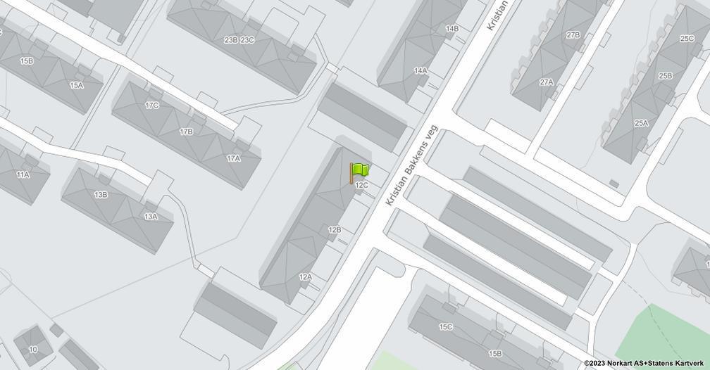 Kart sentrert på geolokasjonen 60.8044780043372 breddegrad, 11.0383208248047 lengdegrad
