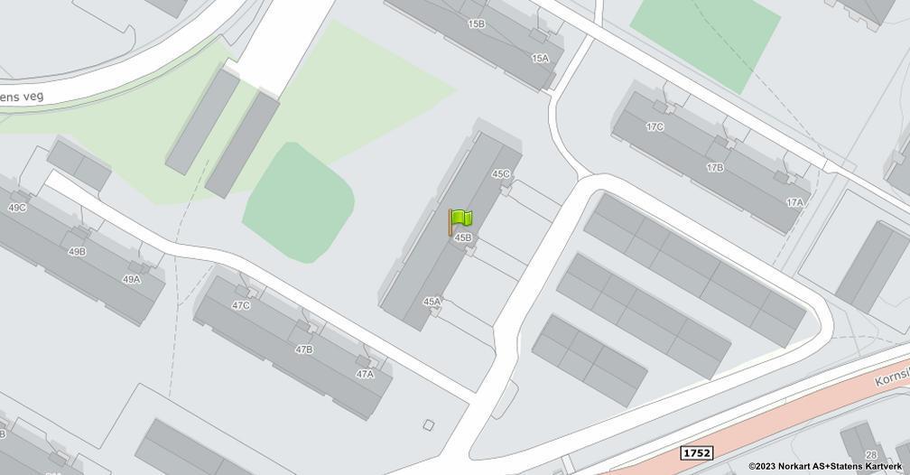 Kart sentrert på geolokasjonen 60.803287831025 breddegrad, 11.039219373573 lengdegrad