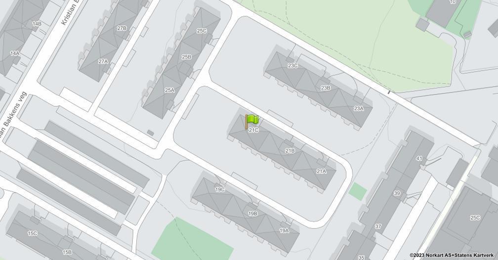 Kart sentrert på geolokasjonen 60.8044967351886 breddegrad, 11.0412264353494 lengdegrad
