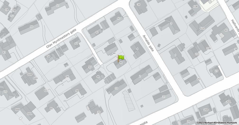 Kart sentrert på geolokasjonen 60.7951496711674 breddegrad, 11.0442020581938 lengdegrad
