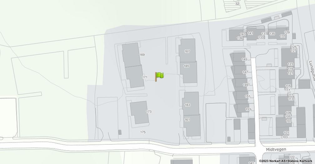 Kart sentrert på geolokasjonen 60.817028 breddegrad, 11.059722 lengdegrad
