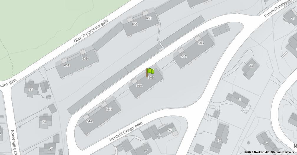 Kart sentrert på geolokasjonen 60.8082997067609 breddegrad, 11.0743772493194 lengdegrad