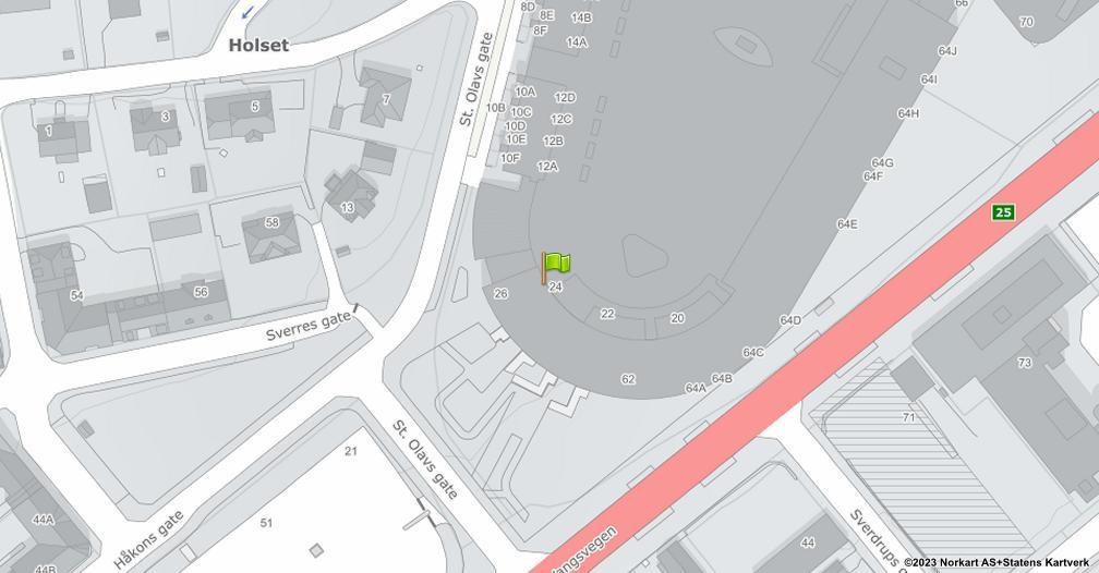 Kart sentrert på geolokasjonen 60.7956467578396 breddegrad, 11.0786841298353 lengdegrad