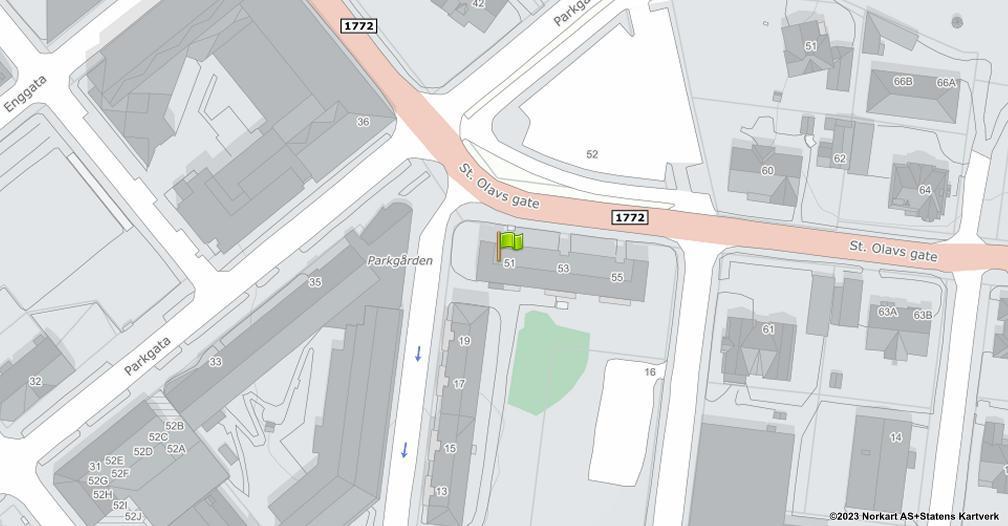 Kart sentrert på geolokasjonen 60.7935245141417 breddegrad, 11.0808270645074 lengdegrad