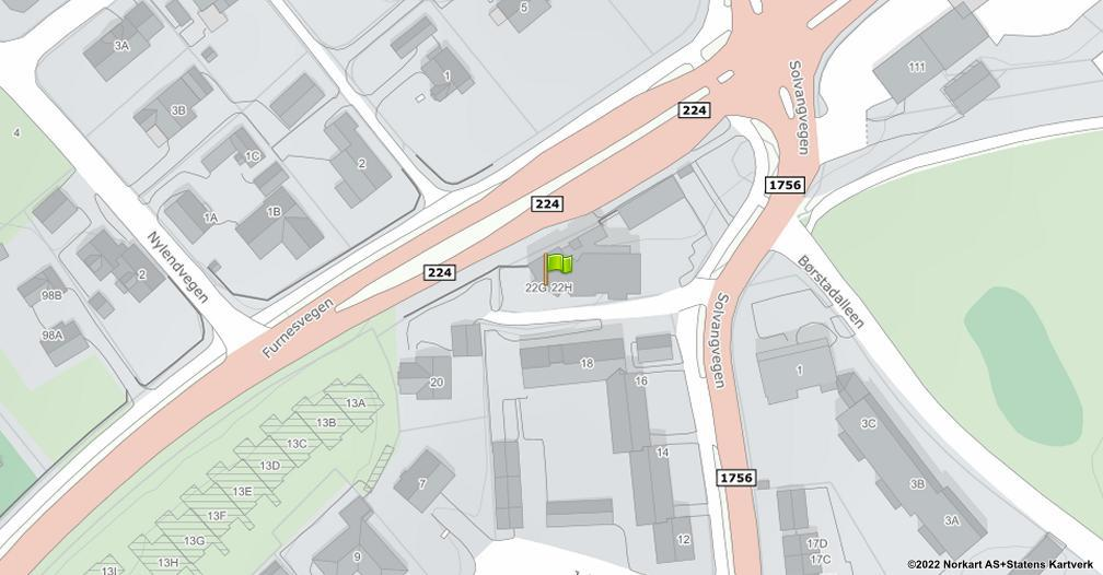 Kart sentrert på geolokasjonen 60.8044823431515 breddegrad, 11.0819428110632 lengdegrad