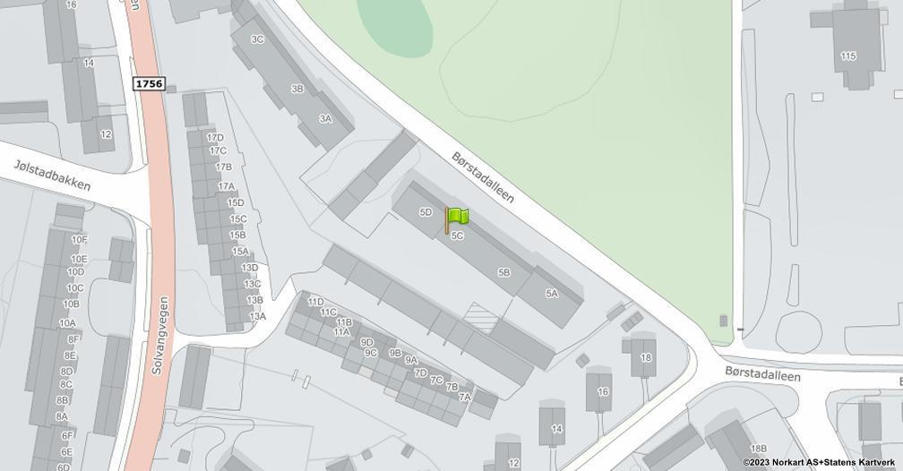 Kart sentrert på geolokasjonen 60.8036248434332 breddegrad, 11.0845341468995 lengdegrad