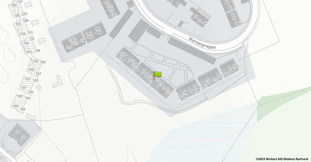 Kart sentrert på geolokasjonen 60.7129632447962 breddegrad, 11.2136522730841 lengdegrad